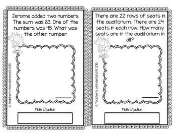 4th Grade April Math Word Problem