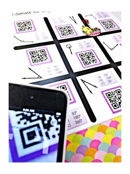4th Grade April QR Code Printables - Low Prep!