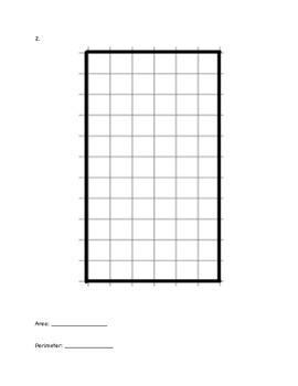 4th Grade Area & Perimeter Test