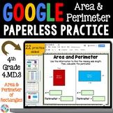 4th Grade Area and Perimeter {4.MD.3} Google Classroom