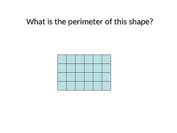 4th Grade Area and Perimeter PowerPoint