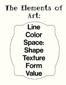 4th Grade Art Sketchbook