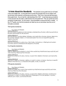4th-6th  Grade ELA Assessment #1 for practice/assessment/direct instruction