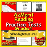 4th Grade AzMerit Test Prep Practice for Arizona - Google Ready