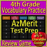 4th Grade AzMerit Test Prep Vocabulary and Mythology Allusions Review Game