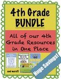 4th Grade BUNDLE - All our 4th Grade Resources in One place