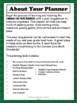 4th Grade Teacher Binder Common Core Math Planner