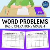 4th Grade Word Problems Four Operations