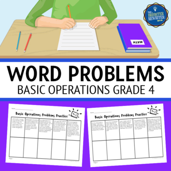 4th Grade Basic Operations Word Problems