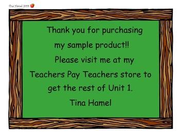 4th Grade Because of Winn Dixie Vocab Cards (Scott Foresman Reading Street 2011)