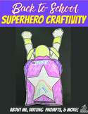 4th Grade Beginning of the Year Flipable Craftivity {Superhero Theme}