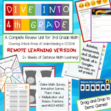 4th Grade Beginning of the Year Review--REMOTE edition