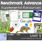 4th Grade Benchmark Advance Resources Unit 3 Observing Nature