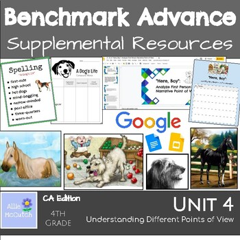4th Grade Benchmark Advance Resources Unit 4 Understanding Diff. Points of View