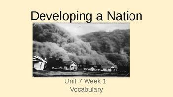4th Grade Benchmark Advance Visual Vocabulary Bundle Units 1 -10