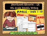 4th Grade Benchmark Writing Resources - Bundle