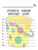 4th Grade Bucket List