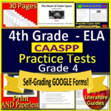 4th Grade CAASPP Test Prep Practice Tests for English Language Arts