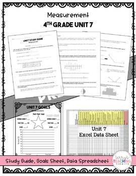 4th Grade Unit 7 Math Test Pack {Paper/Pencil and Paperless}