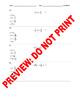 4th Grade CCSS 4.NF.3 Mixed Numerals Assessment