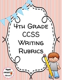 4th Grade Writing Rubrics (Common Core Aligned)
