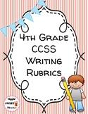 4th Grade Writing Rubrics (Common Core Aligned)
