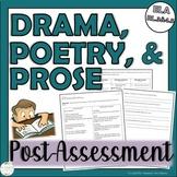 4th Grade CCSS ELA RL.4.5 Assessment