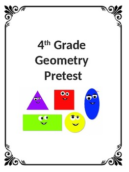 4th Grade CCSS Geometry Assessment