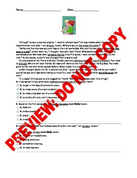 4th Grade CCSS Idioms, Adages, and Proverbs Assessment