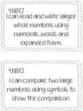 4th Grade CCSS Math I Can Statements