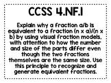 4th Grade CCSS Math Posters