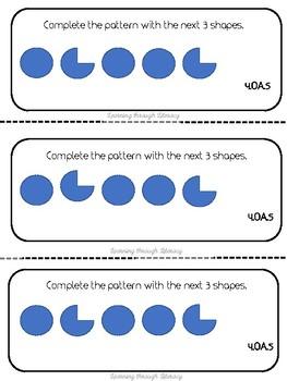 4th Grade CCSS Math Word Problem Strips