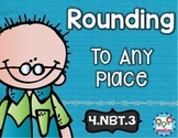 Rounding to Any Place Math Tasks and Exit Tickets