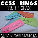 4th Grade CCSS Standards At a Flip