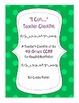 4th Grade CCSS Teacher Checklist - Reading Nonfiction