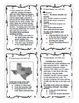 4th Grade Reading Skills Task Cards, 36 Nonfiction Test-Prep Passages!