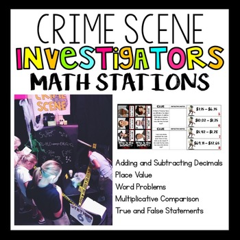 4th Grade CSI Math Stations
