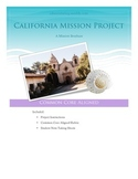 4th Grade California History Mission Project - Common Core Aligned