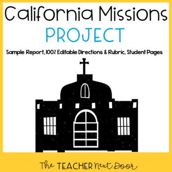 California Missions Project for 4th Grade