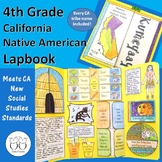 4th Grade California Native American Tribe Lapbook