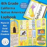 4th Grade California Native American Tribe Lapbook