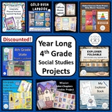 4th Grade California Social Studies Projects All Year
