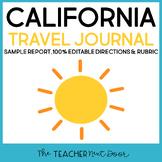 4th Grade California Travel Journal   California Report  
