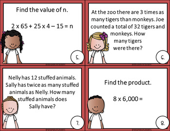 Go Math 4th Grade Chapter 2 Multiplication of 1 Digit Numbers Activity
