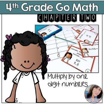 Chapter Two Multiplication Math Scoot Game