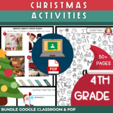 Christmas Activities for 4th Grade | Print & Digital BUNDL