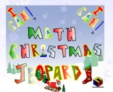 4th Grade Christmas Jeopardy:  CCS Operations and Fractions
