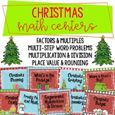 4th Grade Christmas Math Centers