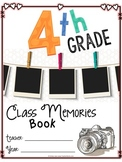 Fourth Grade Memory Book