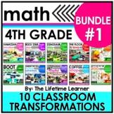 4th Grade Classroom Transformations   Bundle #1